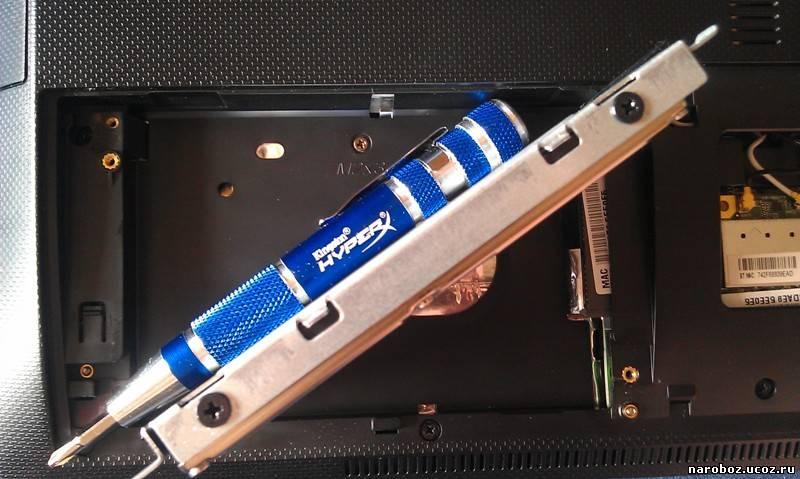 Установка 4GB оперативной памяти в ноутбук Asus K56CM